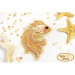 Bead Art Brooch Kit - Goldfish