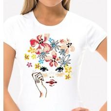 Bead Art T-Shirt Kit - Face