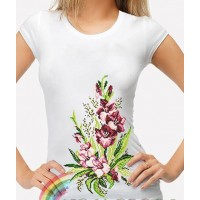Bead Art T-Shirt Kit - Gladioli
