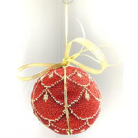 Bead Art Kit - Bauble Scarlet Scales