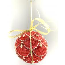 Bead Art Bauble Kit - Scarlet Scales
