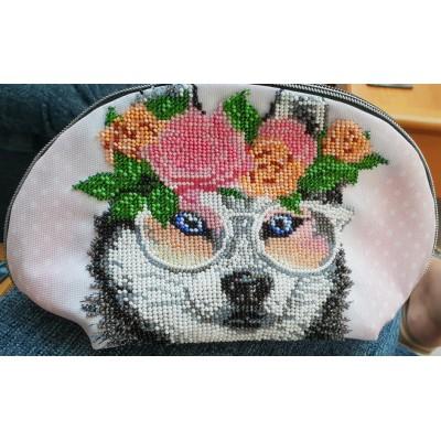 Bead Art Kit - Fox Cosmetic Bag