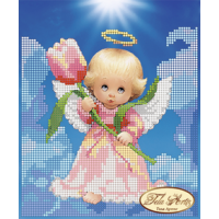 Bead Art Kit - Angel with a Tulip