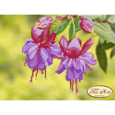 Bead Art Kit - Small Fuchsia