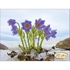 Bead Art Kit - Small Blue Flower