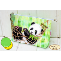 Bead Art Kit - Panda Cosmetic Bag