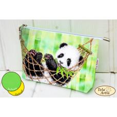 Bead Art Kit - Panda Cosmetic Bag