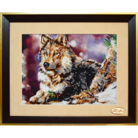Bead Art Kit - Wolf