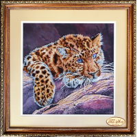 Bead Art Kit - A Big Cat