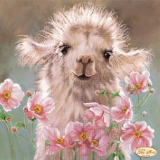 Bead Art Kit - Llama & Flowers