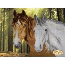 Bead Art Kit - Forest Horses