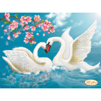 Bead Art Kit - Swans