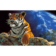 Bead Art Kit - Space Tiger