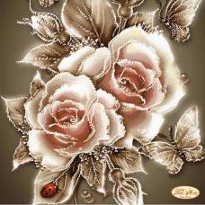 Bead Art Kit - Caramel Rose