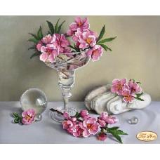 Bead Art Kit - Martini Flower