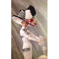 Bead Art Kit - My Fair Lady (Gorgeous Audrey)