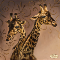 Bead Art Kit - Giraffes