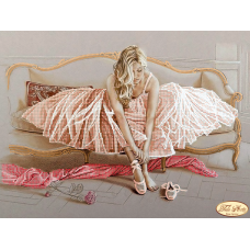 Bead Art Kit - Pink Dress Ballerina (2)