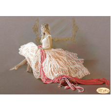 Bead Art Kit - Pink Dress Ballerina (1)