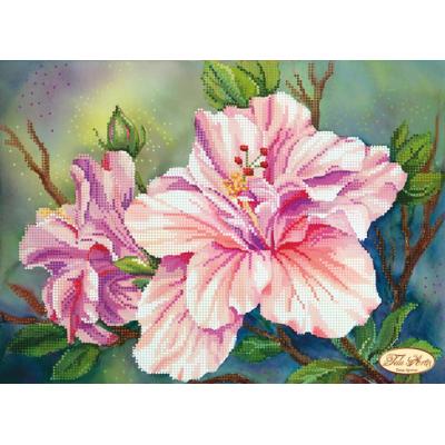 Bead Art Kit - Pink Lillies