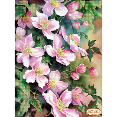 Bead Art Kit - Wonderful Clematis