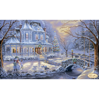 Bead Art Kit - Winter Mansion