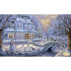 Bead Art Kit - Winter Mansion