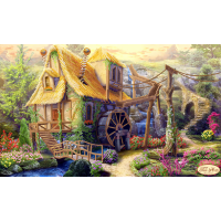 Bead Art Kit - Water Mill