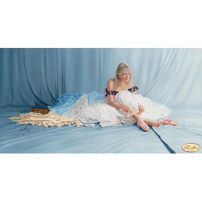 Bead Art Kit - Blue Dress Ballerina