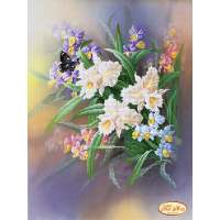 Bead Art Kit - Spring Bouquet