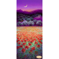 Bead Art Kit - Poppies Under The Moon
