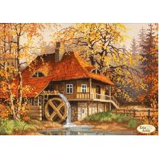 Bead Art Kit - Mill in the Fall