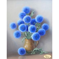 Bead Art Kit - Blue Fuzzies