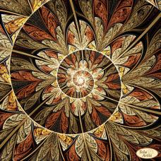 Bead Art Kit - Fractal `Spiral of Life`
