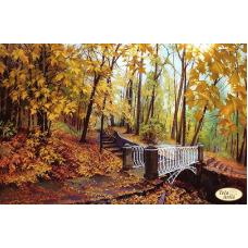 Bead Art Kit - Bridge in Autumn