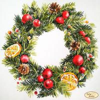 Bead Art Kit - Wreath with Lemons