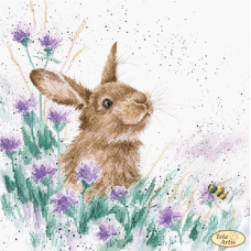 Bead Art Kit - Hare In The Thistle