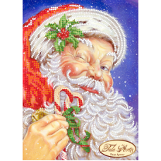 Bead Art Kit - Santa Claus