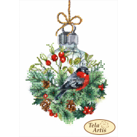 Bead Art Kit - Bullfinch & Bauble