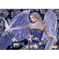 Bead Art Kit - Angel with Dove