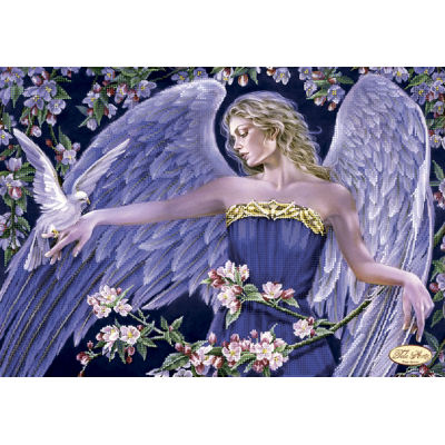 Bead Art Kit - Angel with Dove