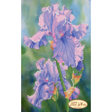 Bead Art Kit - Small Iris