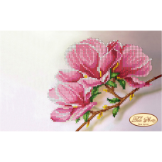 Bead Art Kit - Small Pink (Rose) Flower Twig