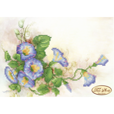 Bead Art Kit - Azure Flowers