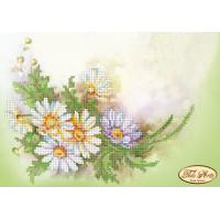 Bead Art Kit - White Daisies