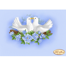 Bead Art Kit - Doves