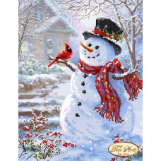 Bead Art Kit - Snowman