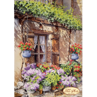 Bead Art Kit - Blossoming Street-1
