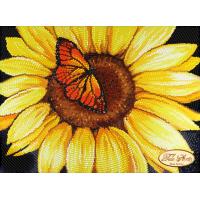 Bead Art Kit - Sunflower & Butterfly