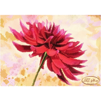 Bead Art Kit - Red Flower (The Beauty of Georgia - Totally Beaded)